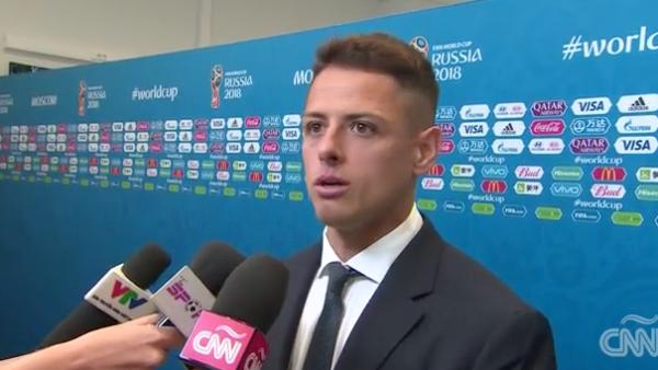 'Chicharito' y Héctor Herrera piden tomar con calma el triunfo ante Alemania
