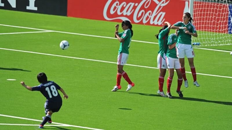 Mexico pierde ante Japon
