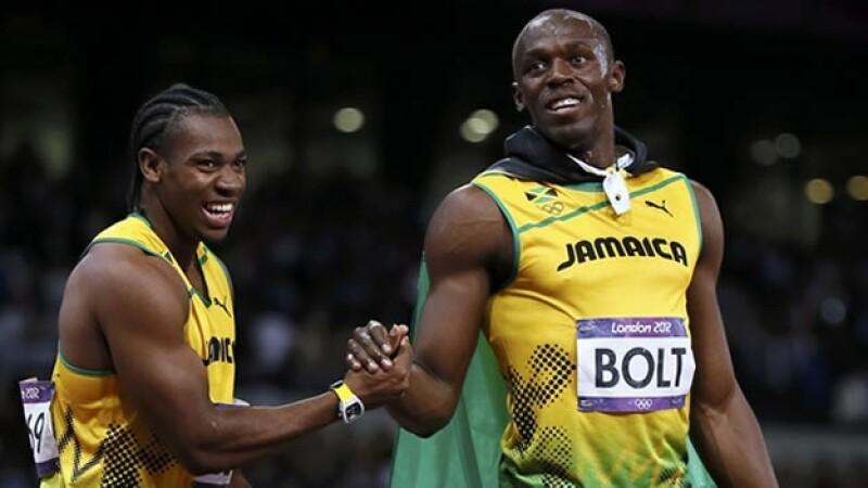 Yohan Blake, bolt, reloj, juegos olimpicos