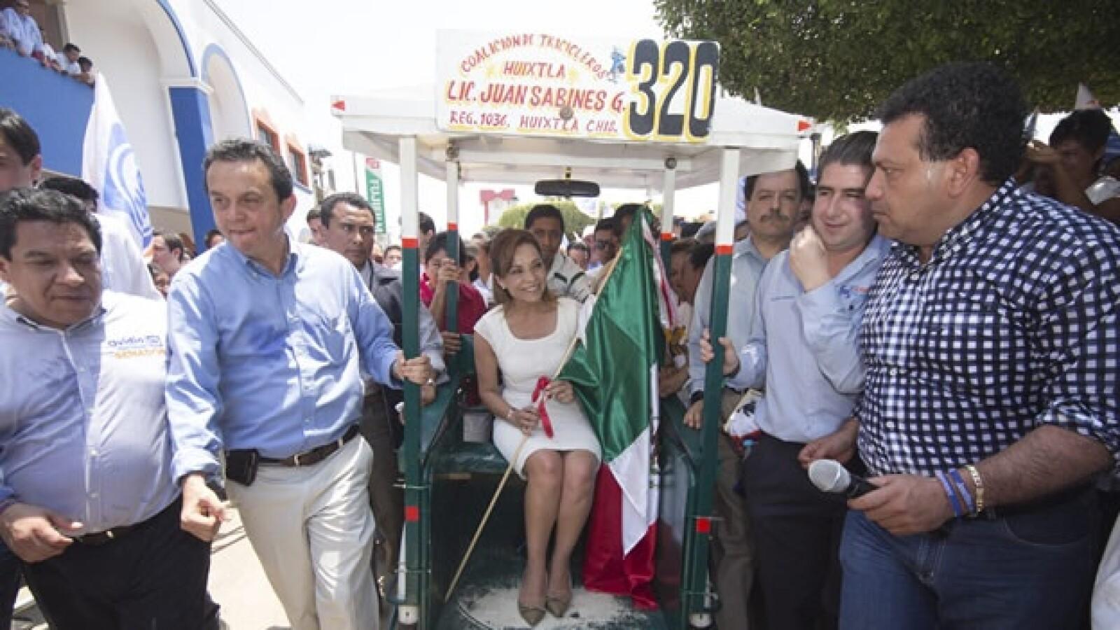 Vázquez Mota visita Huixtla, Chiapas