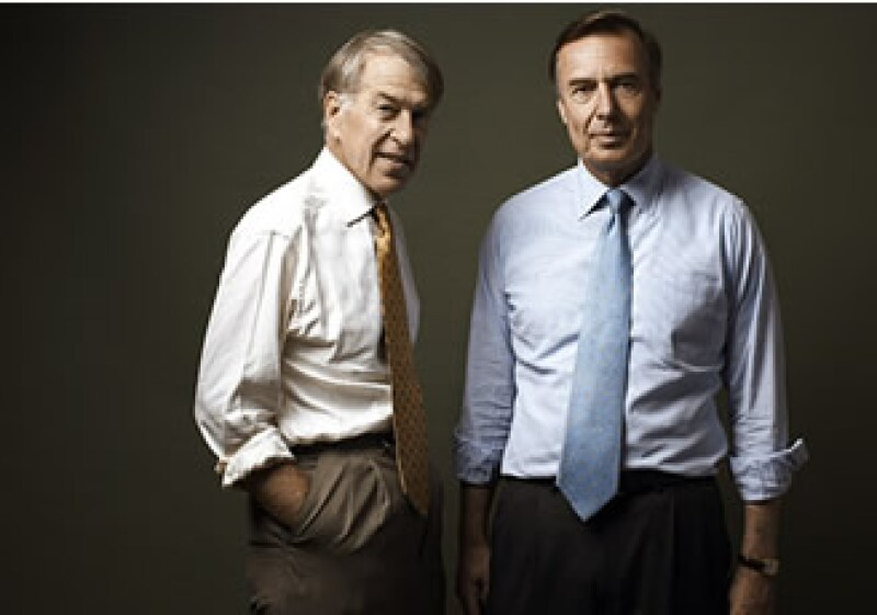 Evercore asesoró la reestructuración de GM. En la foto Roger Altman (izq.), fundador, y Ralph Schlosstein, CEO. (Foto: Cortesía Fortune)