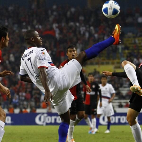 El delantero Narciso Mina anotó para Atlante