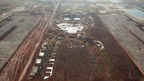 aeropuerto toma área