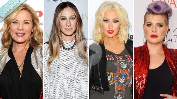 ¡Duelo de egos! Te contamos de los famosos como Christina Aguilera y Kelly Osbourne, que han tenido diferencias y hoy en día no se soportan