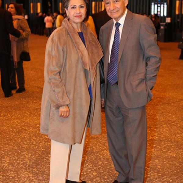 Patricia Dueñas y Manuel Trreba