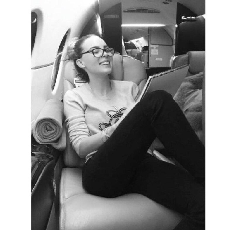 Belinda compartió una foto en Instagram y agregó que lo mejor está por venir.