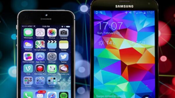 El Galaxy 5S estará disponible en colores negro, blanco, oro y azul eléctrico. (Foto: tomada de mexico.cnn.com)