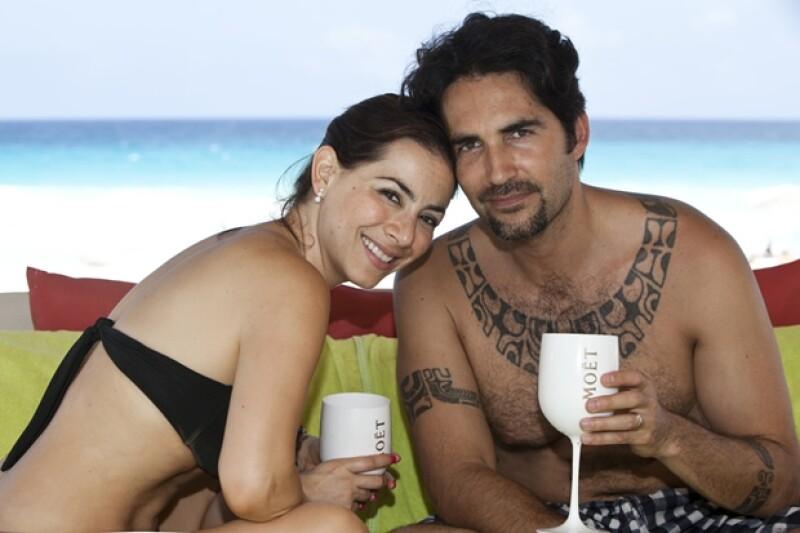 En el hotel ME Cancún, Claudia y su esposo disfrutaron de unos tratamientos en el Yhi Spa.