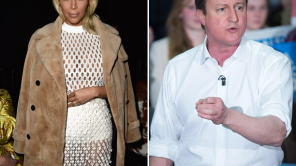 David Cameron ha confesado compartir ancestros con la estrella de la televisión estadounidense.