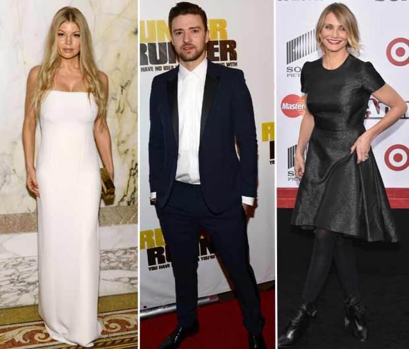 Fergie y Cameron Diaz comparte como ex a Justin Timberlake.