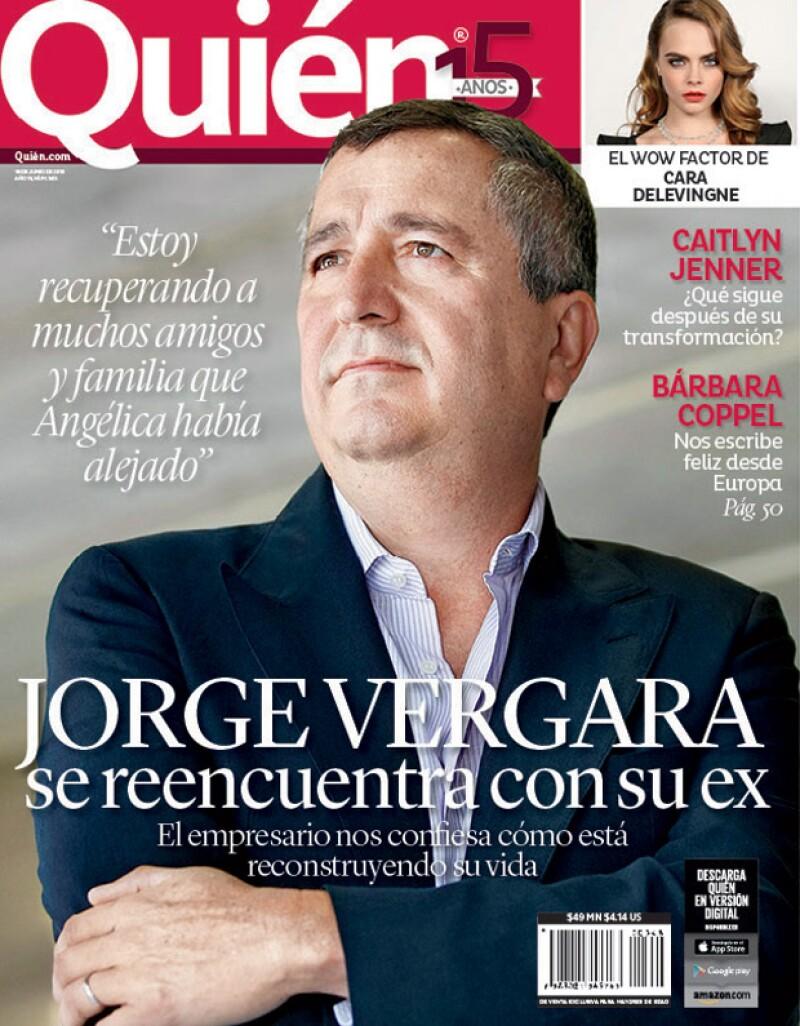 El empresario es nuestra nueva portada y en entrevista nos cuenta sobre su ex, Rossana Lerdo de Tejada, a quien ha vuelto a ver tras su separación de Angélica Fuentes.
