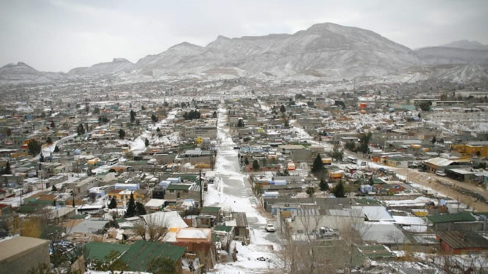 Nevadas ciudad juarez