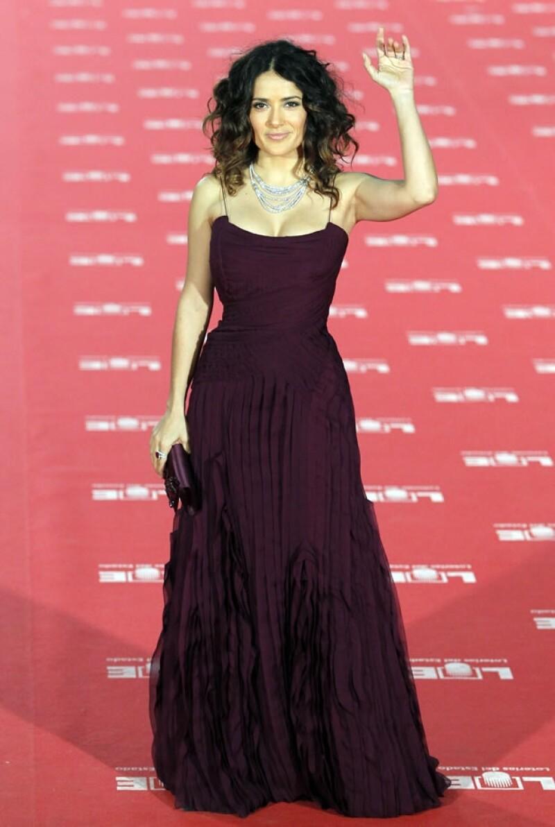 Si a alguien vemos en los mejores eventos es a la actriz mexicana y es que apenas ayer estuvo en el Fashion Week de Londres, el fin de semana en los Goyas y días antes en la Berlinale.