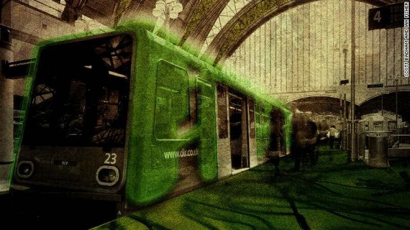 metro, verde, londres,arquitectura