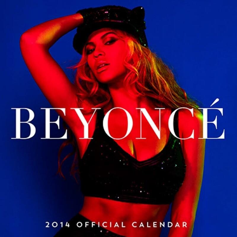 Beyoncé, calendario 2014.