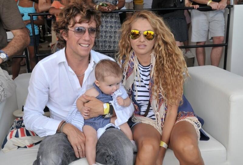 La pareja asistió a un encuentro deportivo en Miami.