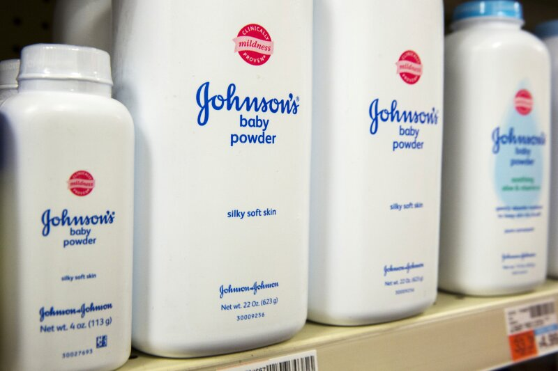 Talco Johnson & Johnson Reuters