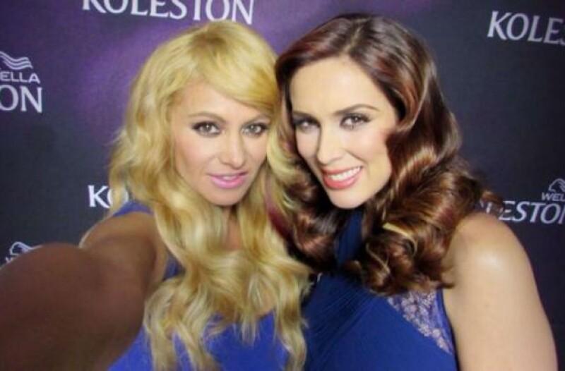 """Paulina y Jacky estuvieron juntas durante ls grabaciones de """"La Voz México"""" en 2012."""