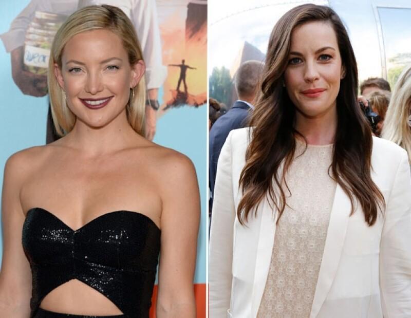 Kate Hudson y Liv Tayler han trabajado juntas en El Dr. y las mujeres.