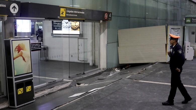 Afectaciones en el aeropuerto