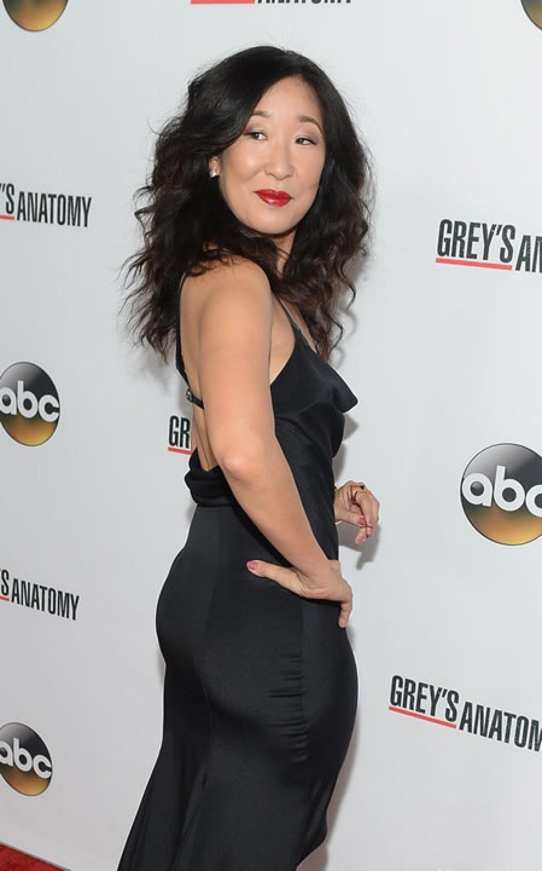 De 2005 a 2009 Sandra Oh fue nominada por Greys Anatomy, pero jamás alcanzó la victoria.