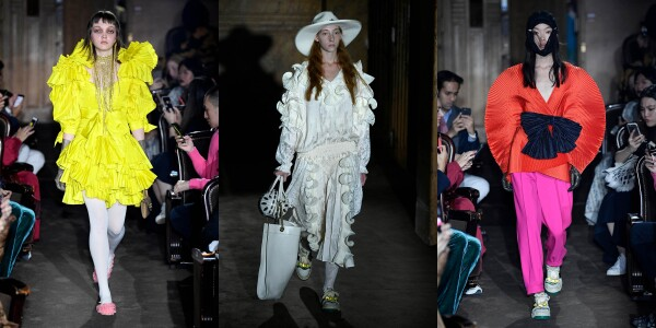 Gucci show, Runway, Spring Summer 2019, Paris Fashion Week, France - 24 Sep 2018