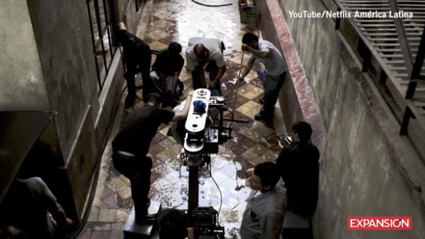 Así se filmó 'Roma', de Alfonso Cuarón