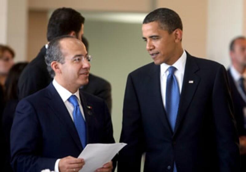 Este lunes los mandatarios sostendrán varias reuniones trilaterales (Foto: Notimex)