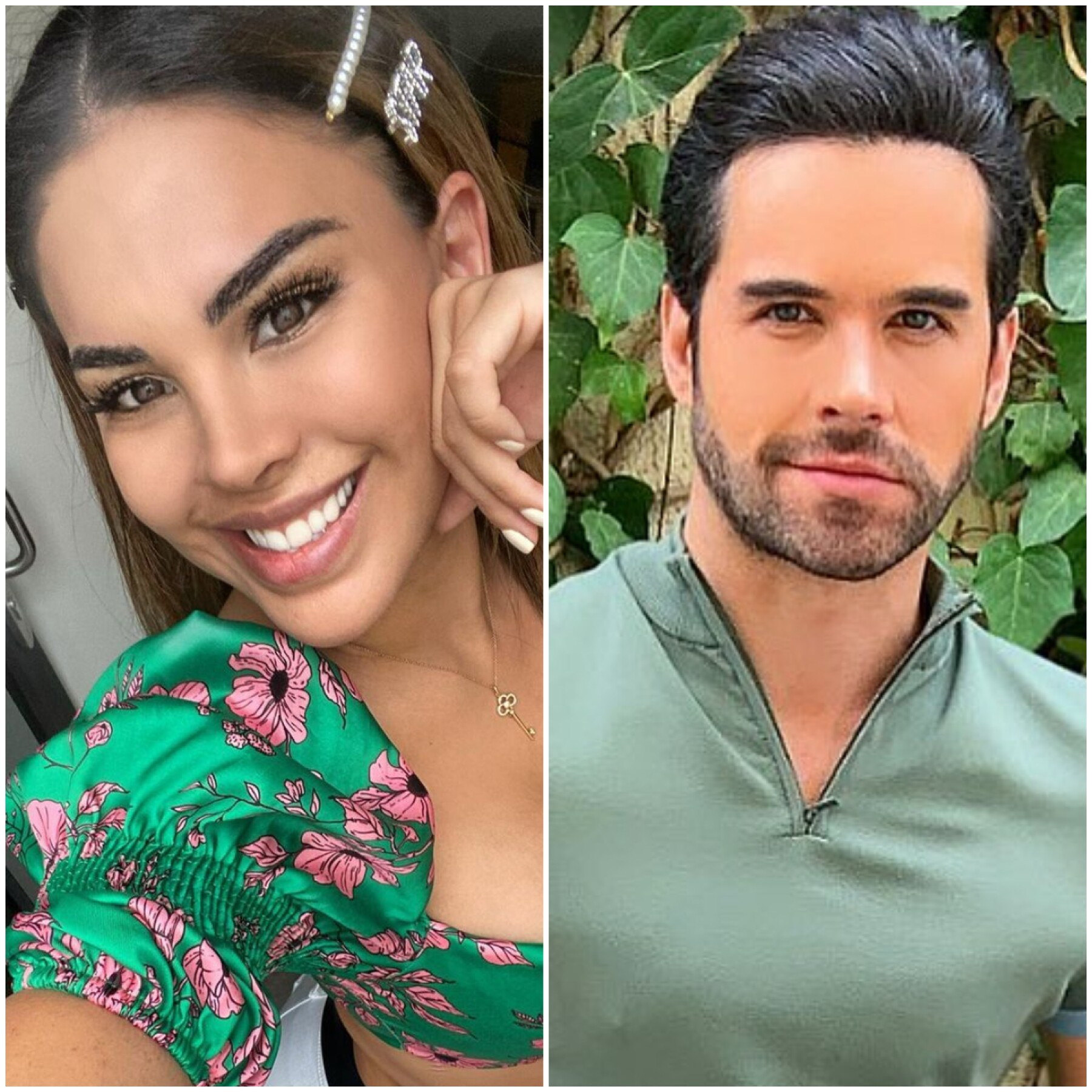 Tefi Valenzuela y Eleazar Gomez