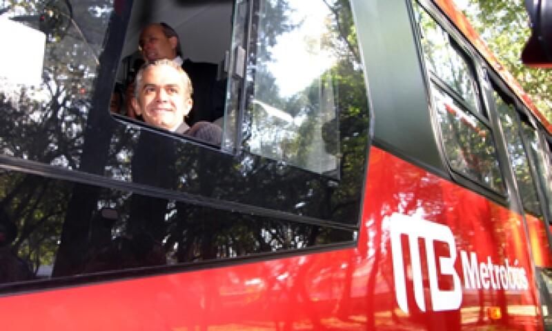 El aumento en el Metrobús entra en vigencia a partir de este martes, informó el Gobierno de Miguel Mancera. (Foto: Notimex)