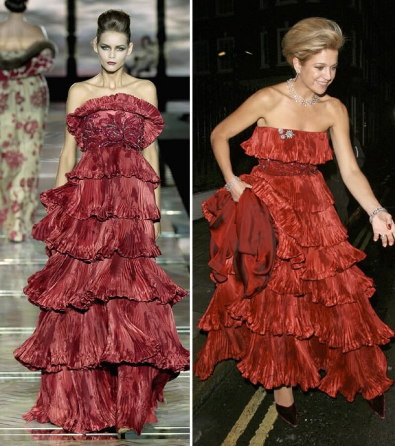 La ahora reina de Holanda ayer por la noche lució un vestido rojo de Valentino que ya le habíamos visto hace cuatro años.