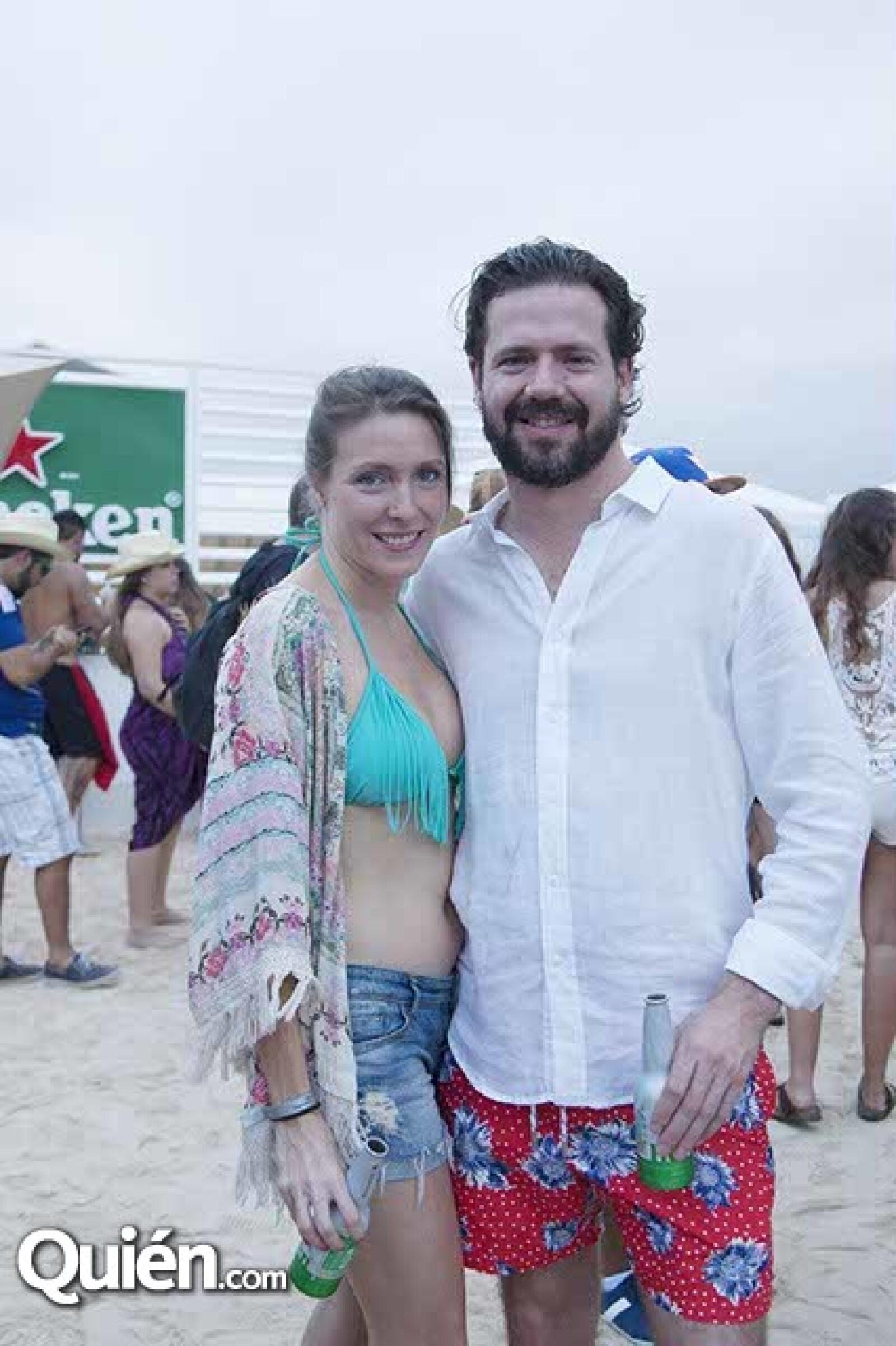 Rocio Alonso y Pablo Germán