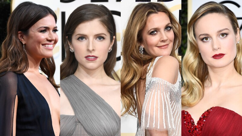 Mandy Moore, Anna Kendrick, Drew Barrymore y Brie Larson.