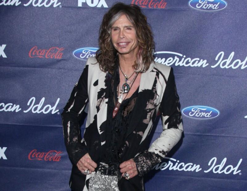 El líder de formación Aerosmith aseguró que deja de ser jurado del reality para volver dedicarse completamente a la música junto a su banda.