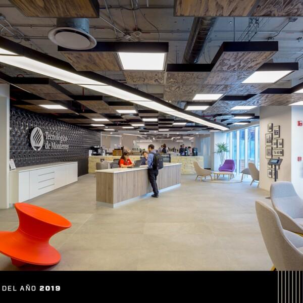 ITESM Nuevo Sur, premio Interiorismo Corporativo de Obras-Elle Decoration