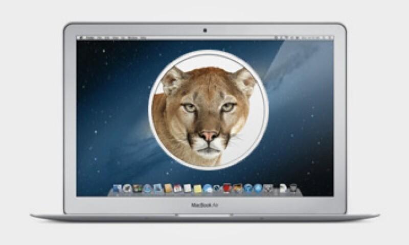 Mountain Lion tiene más de 300 mejoras respecto a su anterior versión, según Apple. (Foto: Cortesía Apple. Diseño: Jorge Márquez)