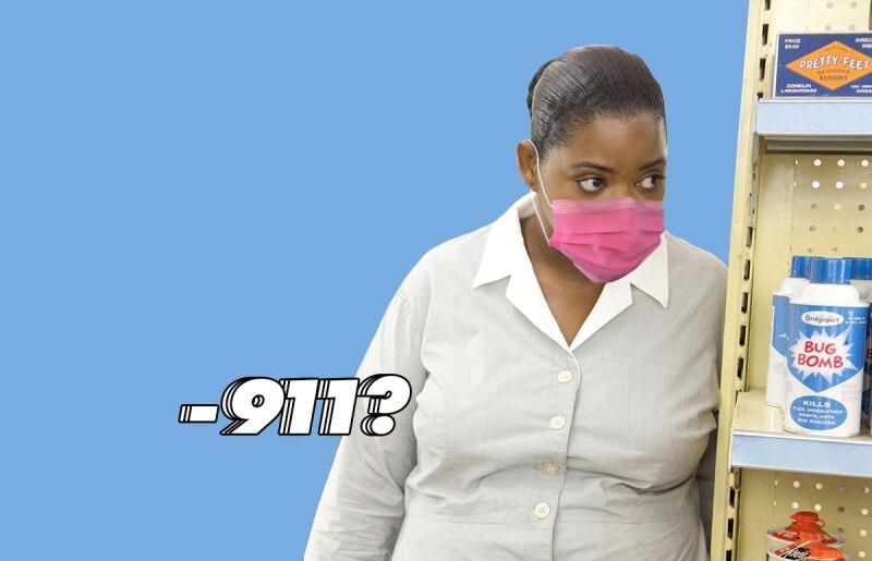 911-policia-carcel-coronavirus challenge