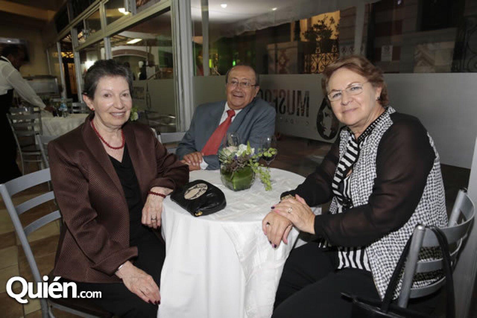 Michelle Rabner,Alejandro Rendón,Berta de Rendón