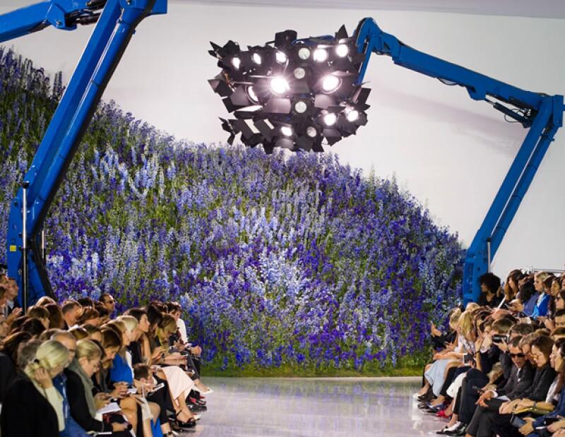 El jardín secreto de Dior.