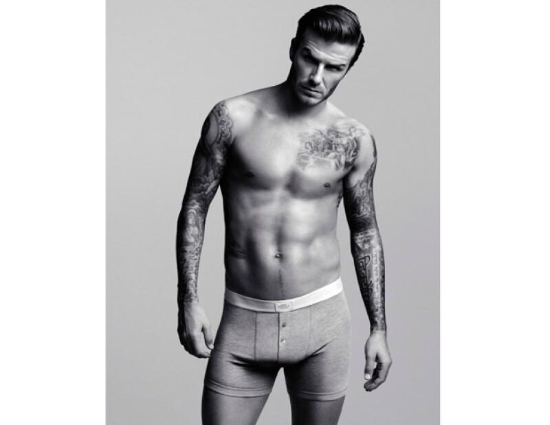 David Beckham resultó ser un excelente modelo.