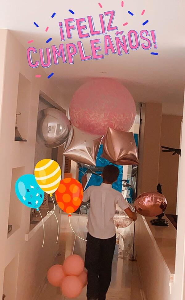 Cumpleaños de Aracely Arámbula
