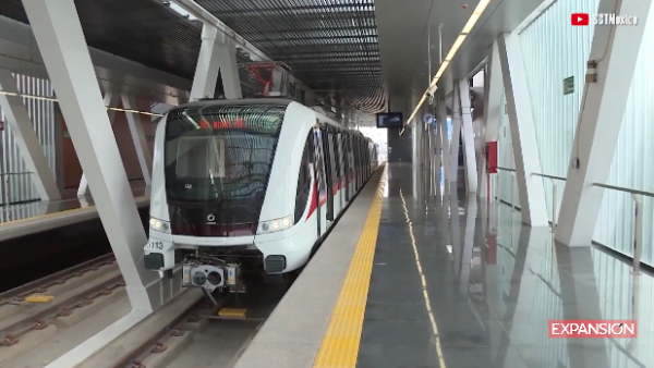 Así luce la línea 3 del Tren Ligero de Guadalajara