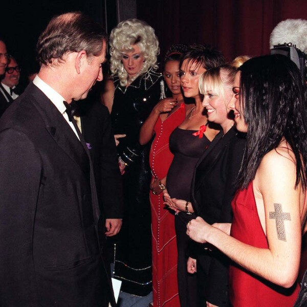 SHOWBIZ Spice Girls line up