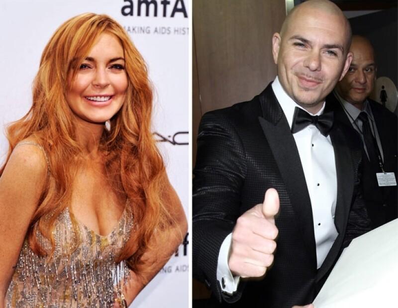 """El pleito comenzó en 2011 cuando la actriz se molestó porque en una de las canciones el cantante interpreta """"encerrado como Lindsay Lohan""""."""