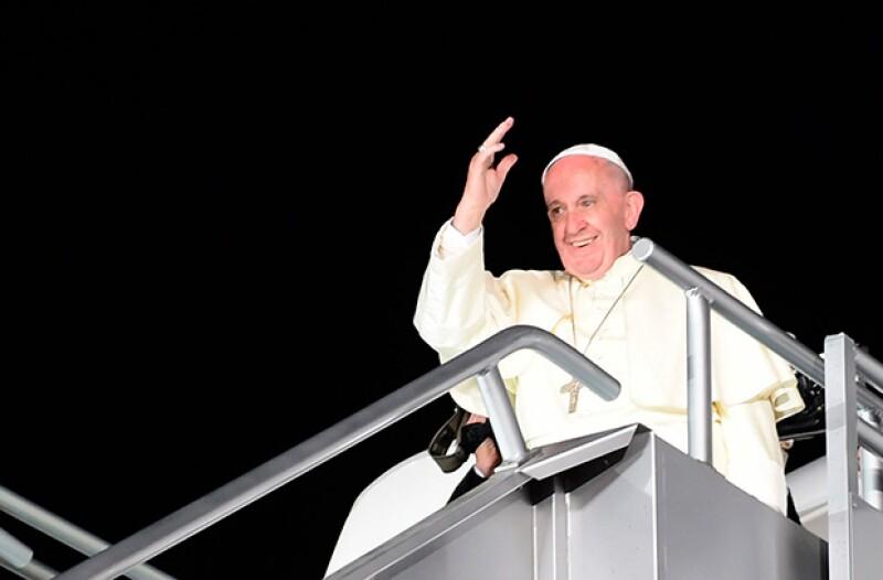 El Papa aseguró que las cualidades que tienen los mexicanos les han permitido no fracasar.