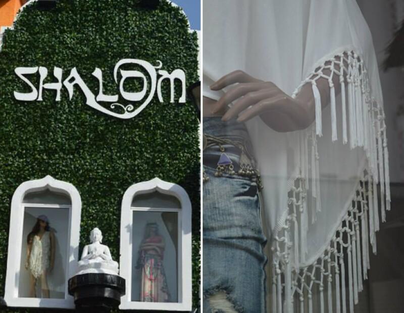 Shalom se encuentra en Playa del Carmen, Tulúm y Holbox.