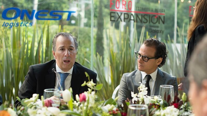 El Dr. José Antonio Meade Kuribreña, secretario de Hacienda y Crédito Público