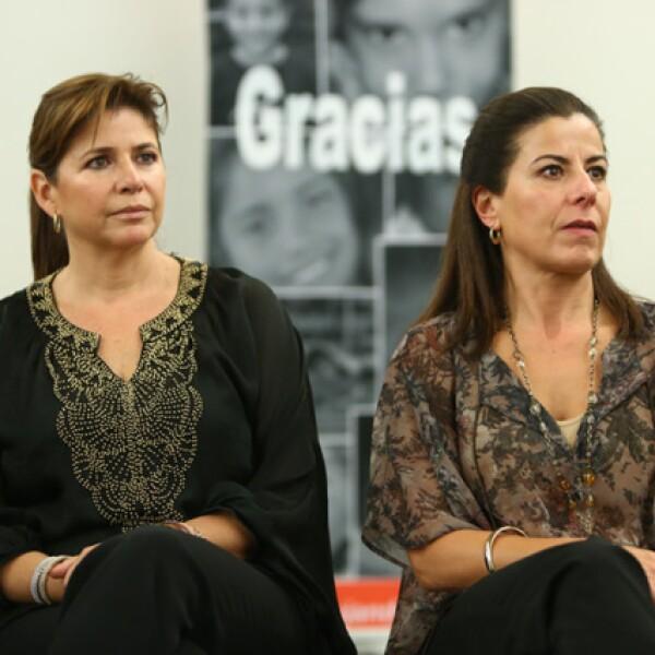 Isabel Cruz y Celis y Eugenia Torres