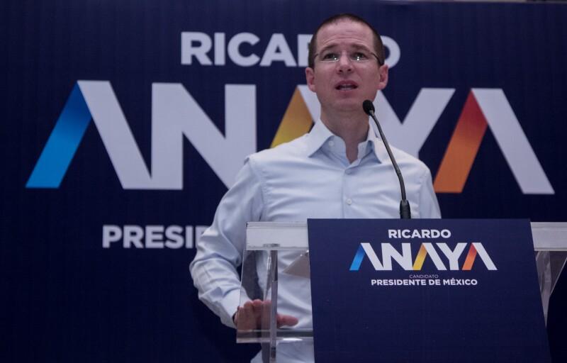 Anaya propone que el Congreso ratifique a su gabinete