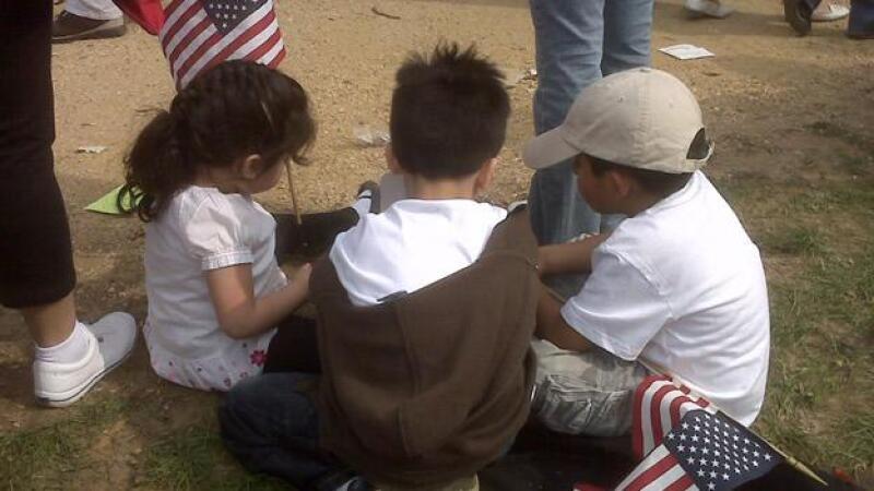 ninos inmigrantes
